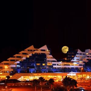 نمای هتل پارمیس کیش