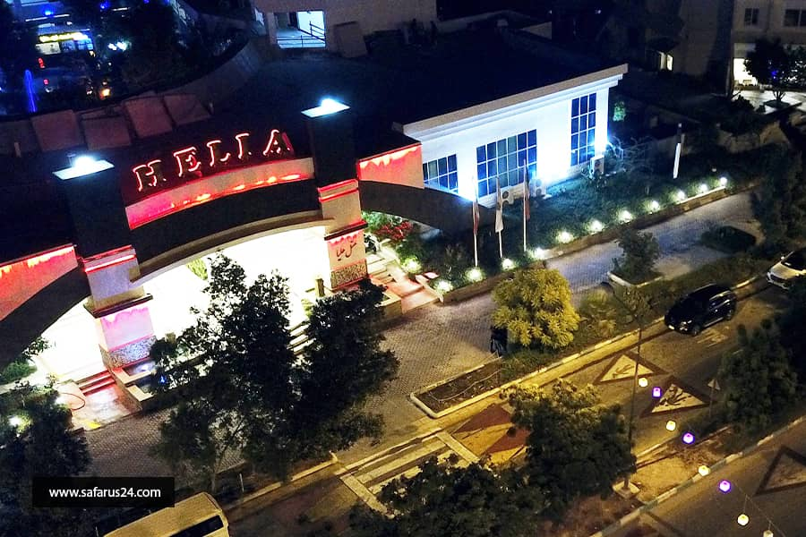 تور کیش از تهران هتل هلیا