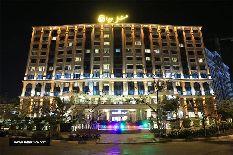 تور کیش از تهران هتل ویدا