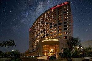 نمای هتل پانوراما کیش