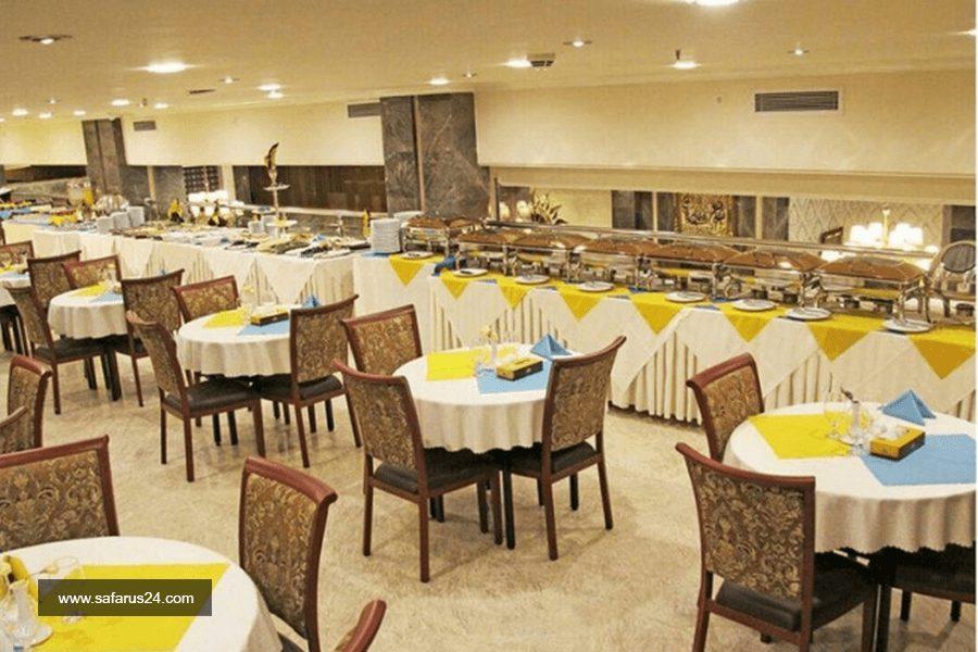 رستوران هتل ایران زمین مشهد