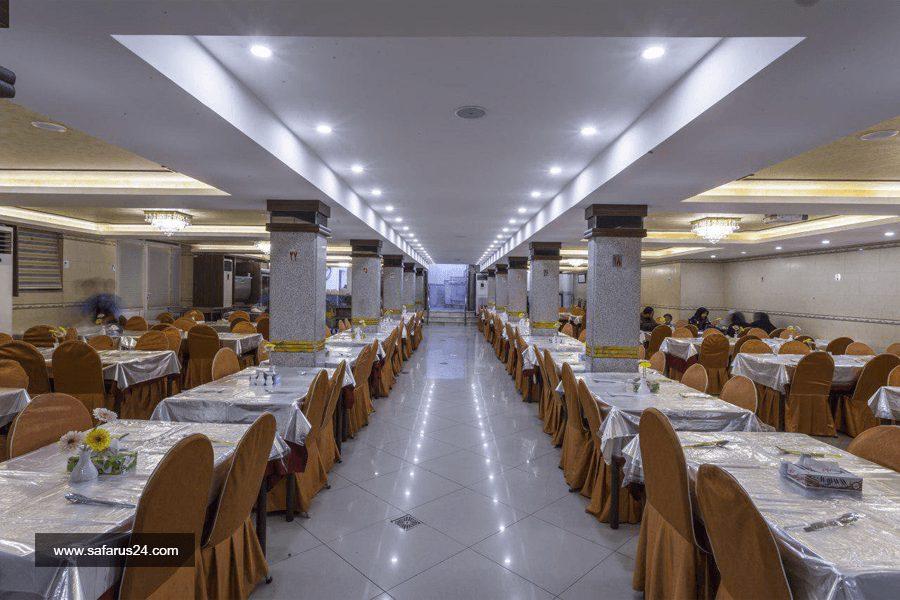 رستوران هتل قدس مشهد