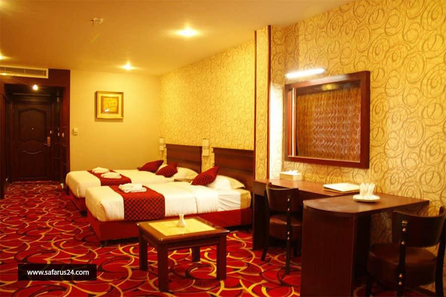 تور کیش از ساری هتل پارمیدا