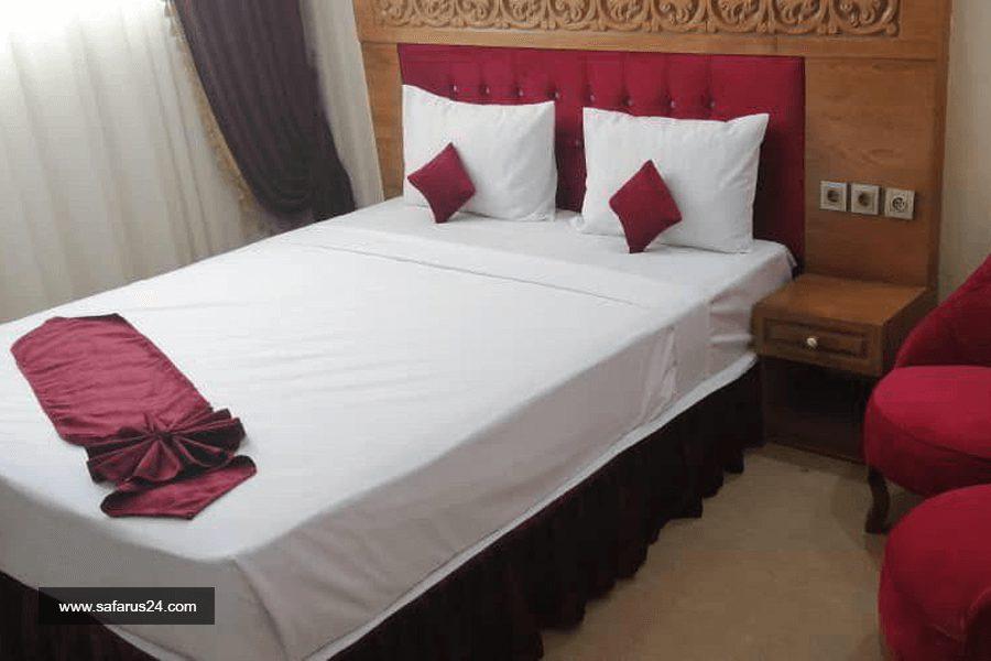 اتاق هتل علمدار مشهد