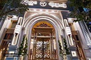 نمای هتل رز درویشی مشهد