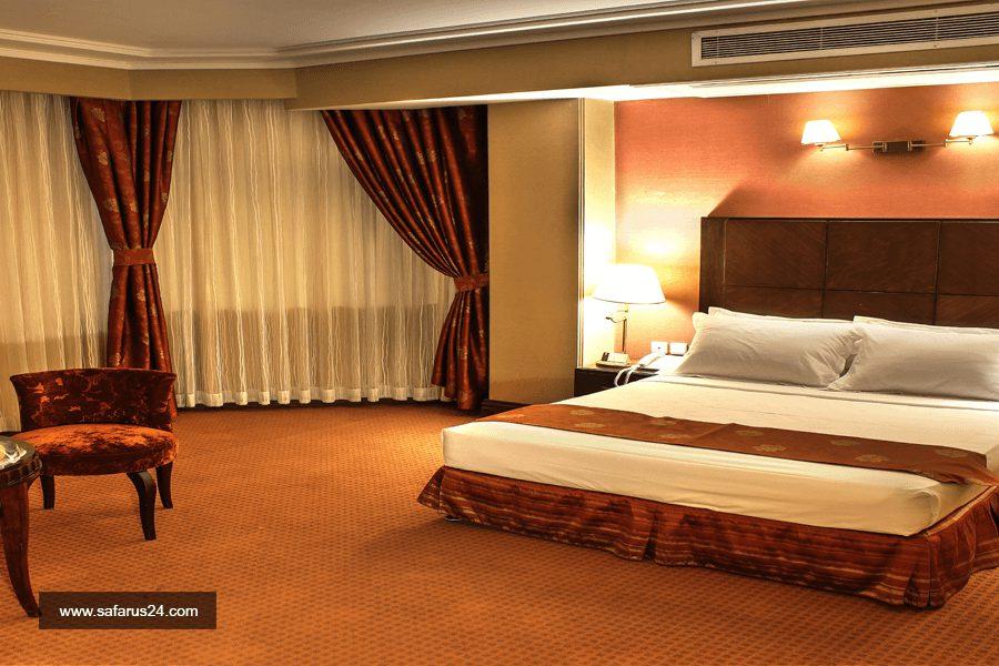اتاق هتل جواد مشهد