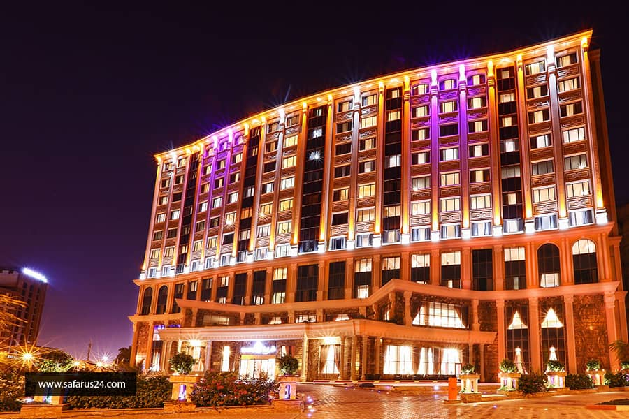 تور کیش از تبریز هتل ویدا