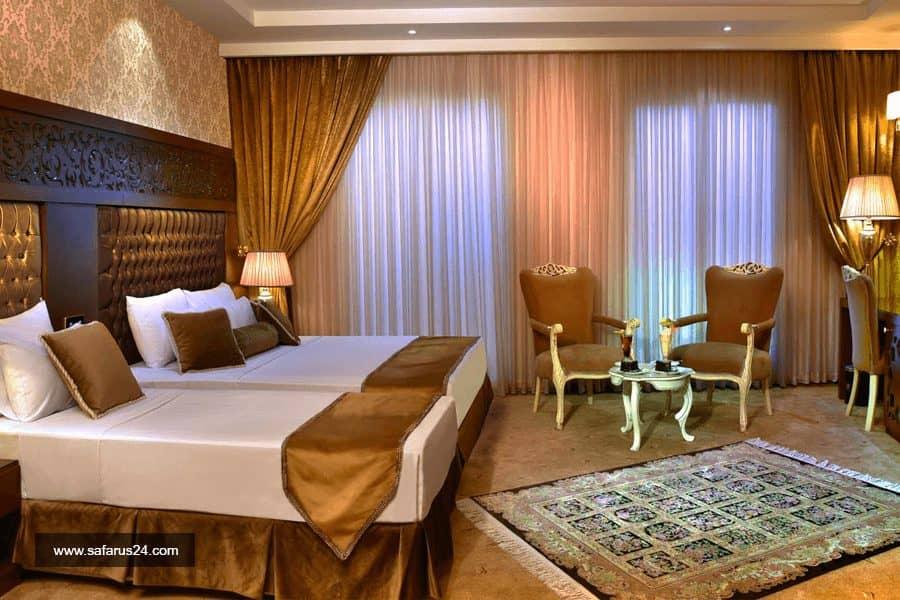 تور مشهد از تهران هتل الماس نوین