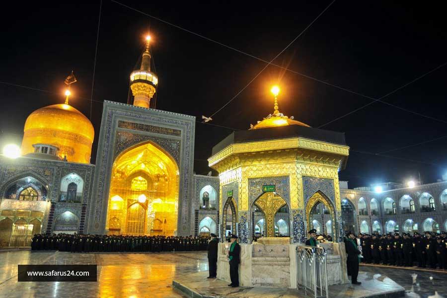 رزرو تور هوایی مشهد