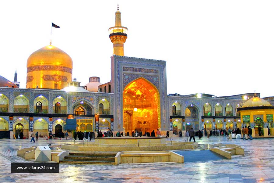 رزرو تور هوایی مشهد از اصفهان