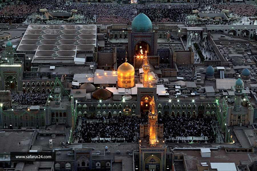 رزرو تور زمینی مشهد از شیراز
