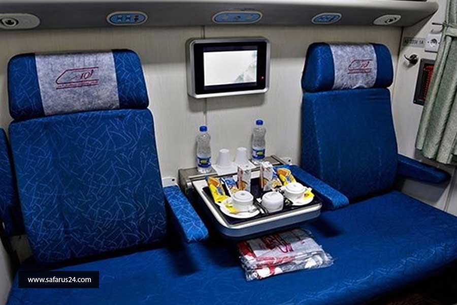 قیمت تور زمینی مشهد از تهران با قطار