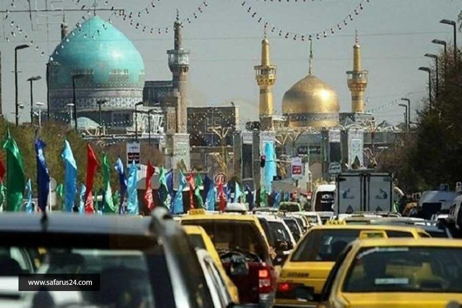 رزرو تور زمینی مشهد از کرمانشاه