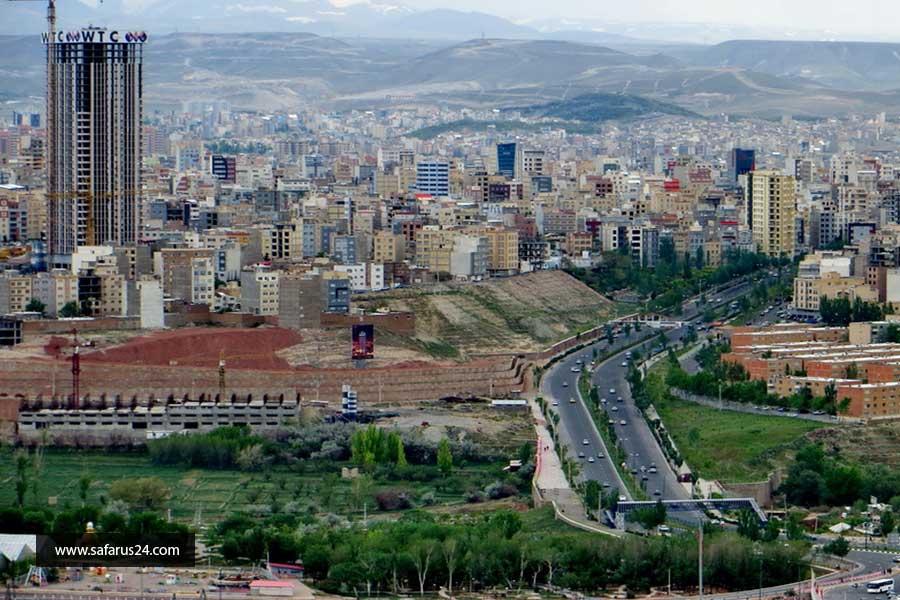قیمت تور زمینی مشهد از تبریز با قطار