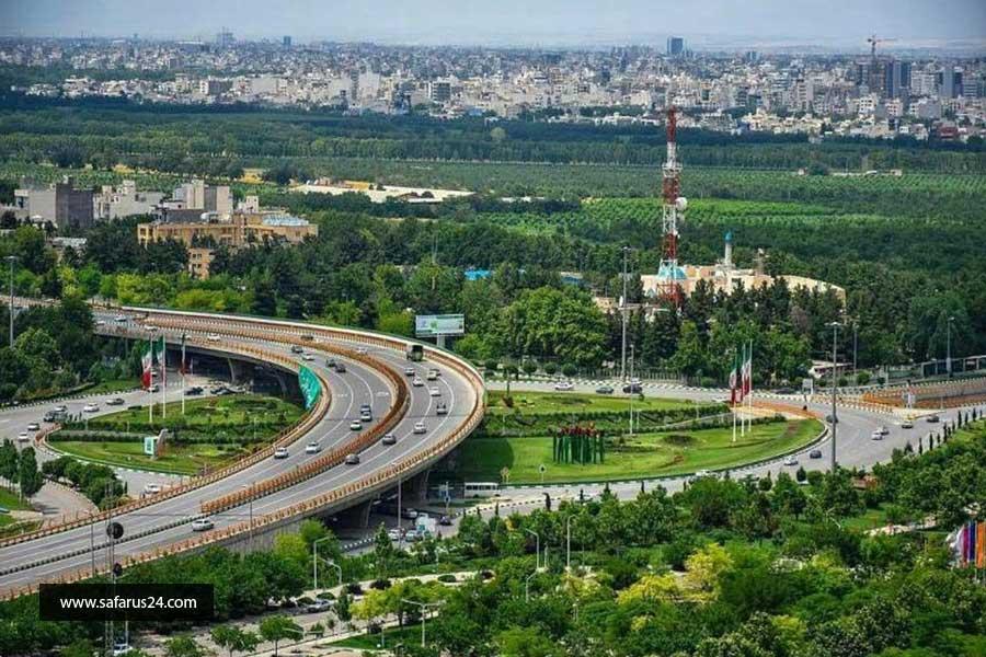 قیمت تور زمینی مشهد از شیراز با قطار