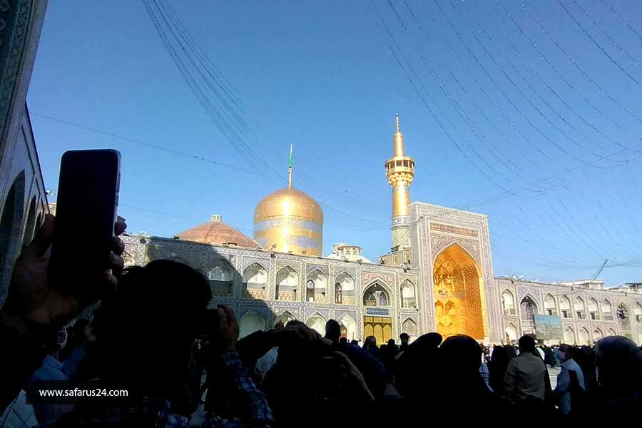 تور هوایی مشهد از تهران