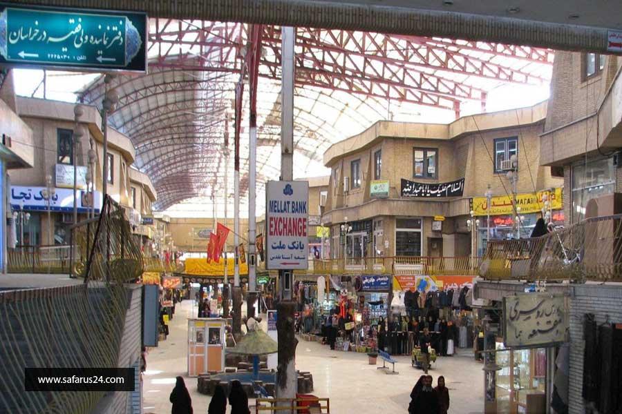 بازارهای مشهد در تور هوایی مشهد از تبریز