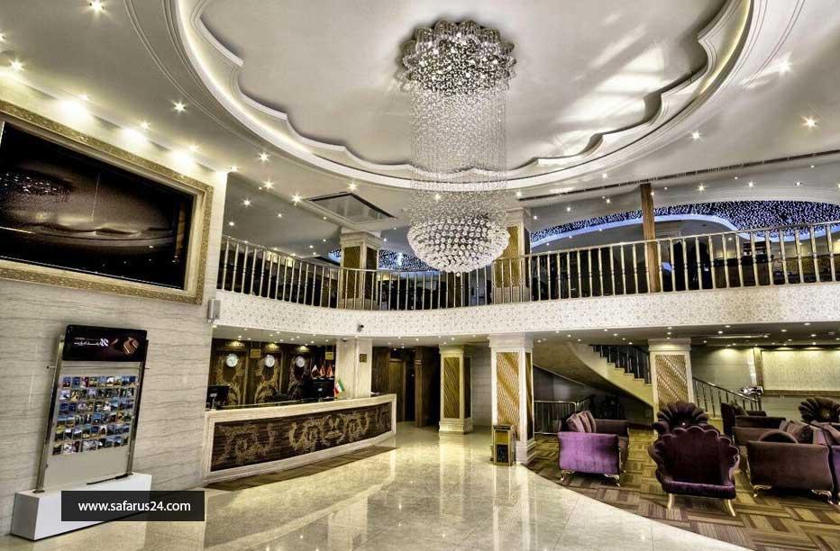 تور مشهد هتل سهند هوایی از تهران