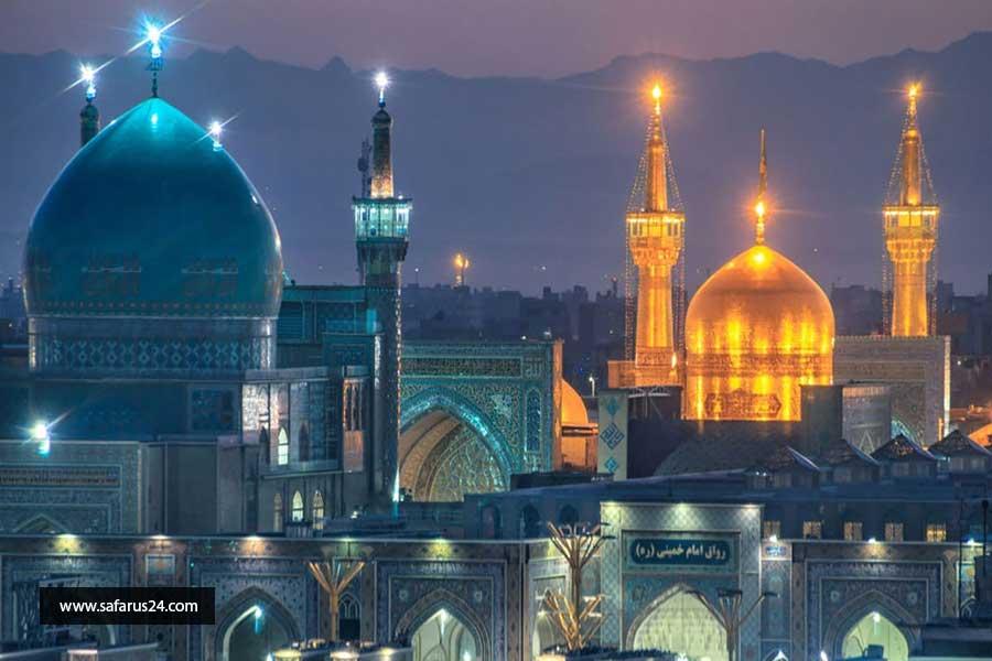 رزرو تور هوایی مشهد از یزد