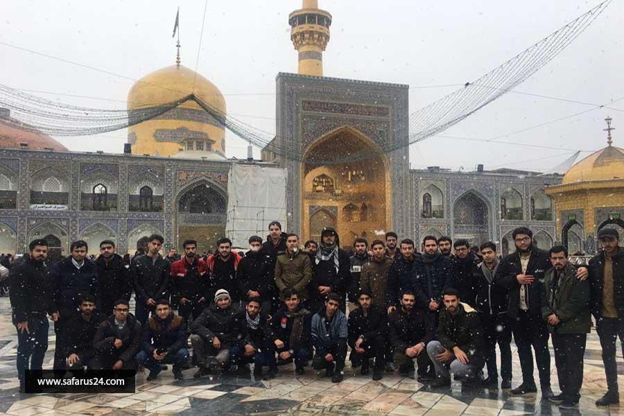 تور هوایی مشهد مقدس از یزد