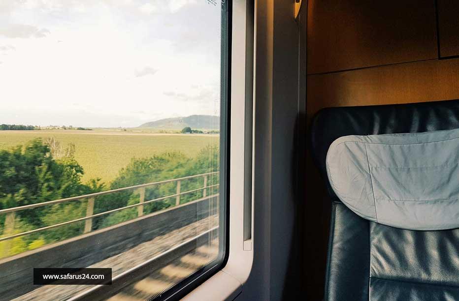تور مشهد با قطار vip