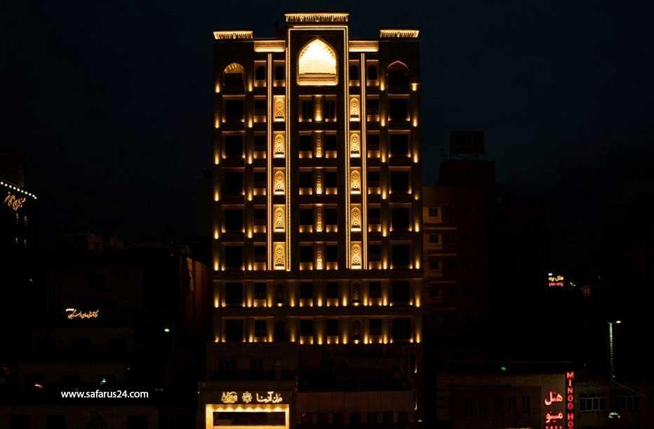 هتل ها در تور نوروزی مشهد