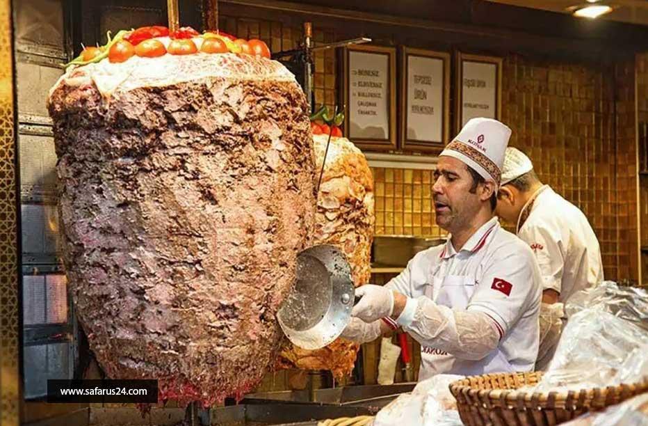 کباب ترکی در تور لحظه آخری استانبول