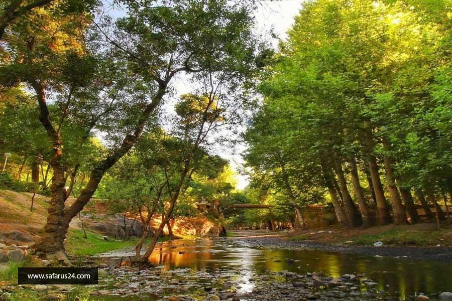 پارک ها در تور هوایی مشهد از آبادان