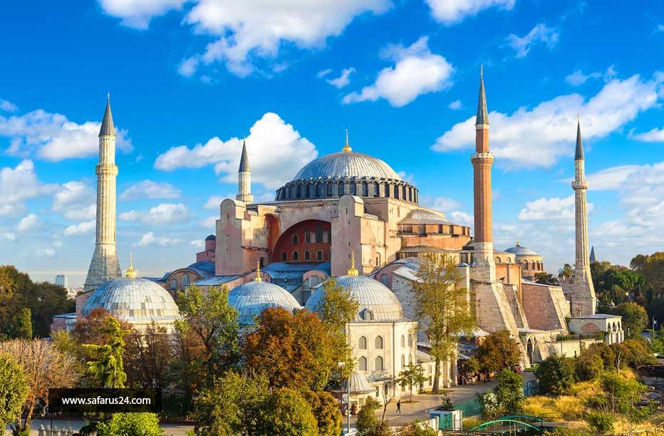 تور ارزان استانبول از تبریز