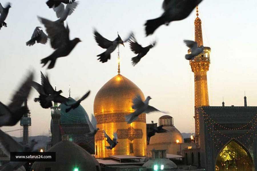 قیمت تور اهواز به مشهد