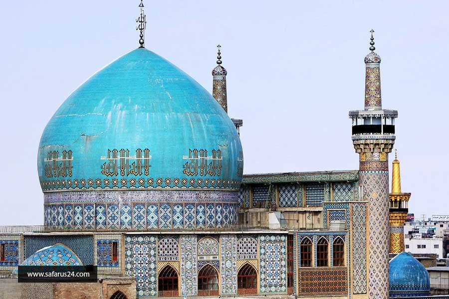 تور زیارتی مشهد از یزد