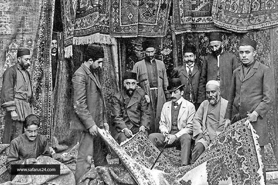 تاریخچه فرش مشهد