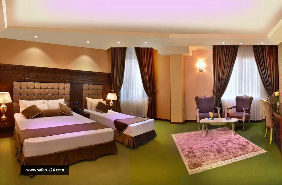 تور مشهد از تبریز هتل الماس نوین هوایی