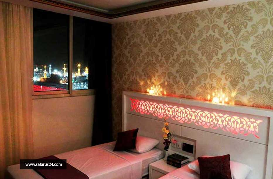 تور مشهد از تبریز هتل آپارتمان بشری هوایی